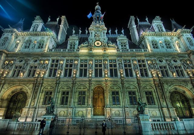 L'Hôtel de Ville in Paris