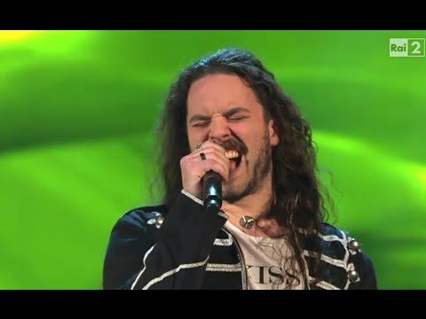 "#GiacomoVoli #Voli Giacomo Voli: ""Rock'n'roll"" Blind Auditions - The Voice of Italy 2014"