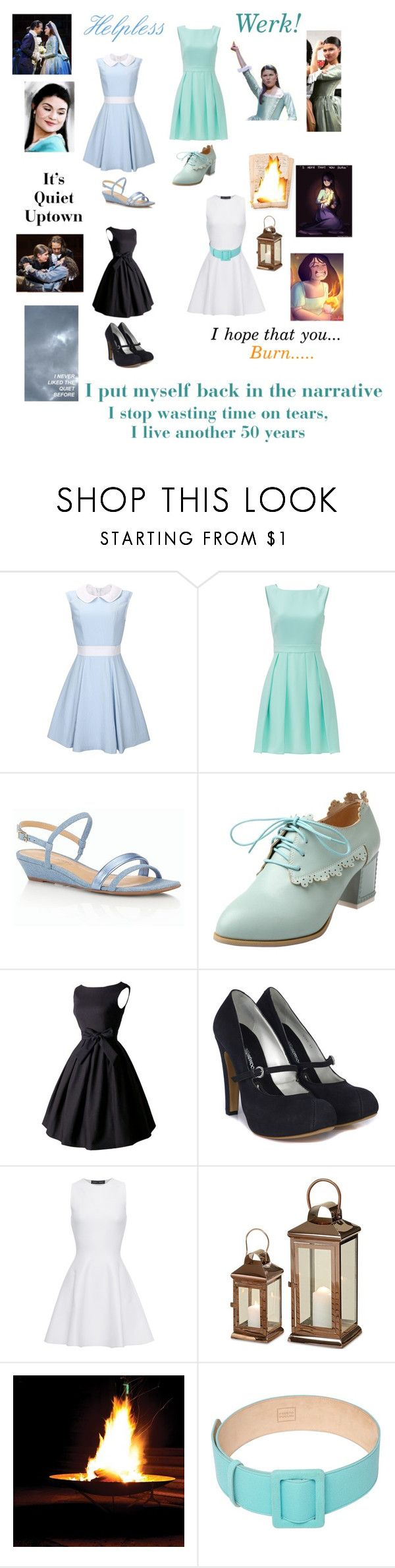 """Modern Elizabeth Schuyler Hamilton-Hamilton"" by silverbellatrix ❤ liked on Polyvore featuring Kate Spade, Talbots, Vivienne Westwood, Proenza Schouler, FAUSTO PUGLISI and modern"