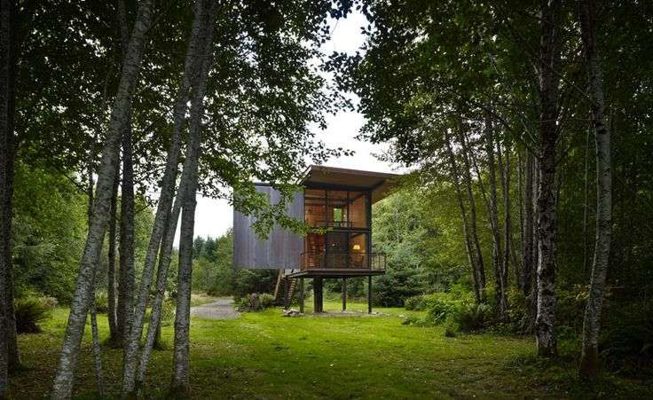 Sol Duc Cabin Sited in West Washington, this compact cabin is the latest triumph in a series of small structures by Olson Kundig Architects