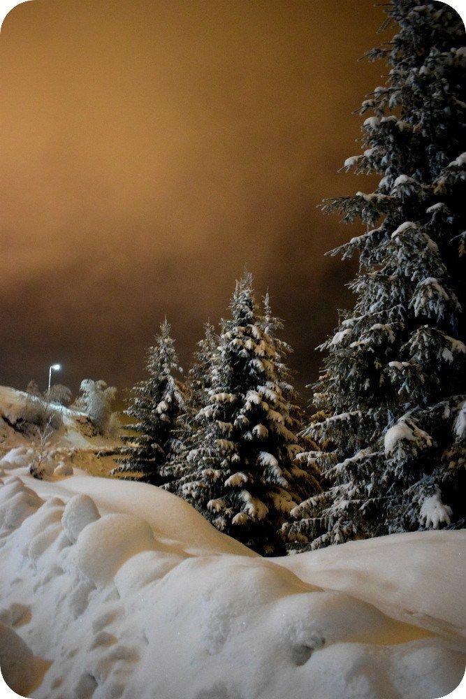 Peisaje de poveste iarna la Straja