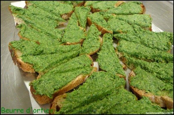Beurre d'orties (tartinade pour l'apéritif) - Mes Envies et Délices