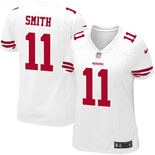Nike Limited Womens San Francisco 49ers http://#11 Alex Smith White Color NFL Jersey$79.99