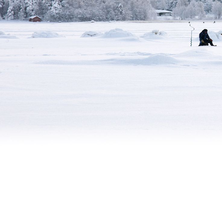 Have you tried ice-fishing?
