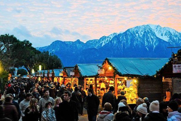 Navidad en Mountreux, Suiza