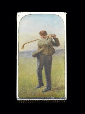 9 best g o g o l f i n g images on pinterest vintage golf 318 a victorian silver enamel vesta case depicting o on fandeluxe Image collections