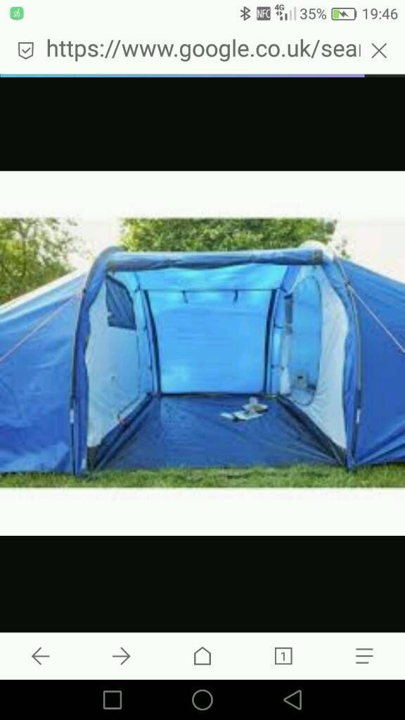 6 man 2 bedroom tent | in Southampton, Hampshire | Gumtree