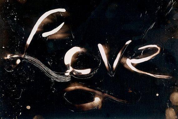 Love Print Art Photogram 5x7 Romantic Love Photo - Wedding - Anniversary - Engagement - Sweetheart - Home Decor