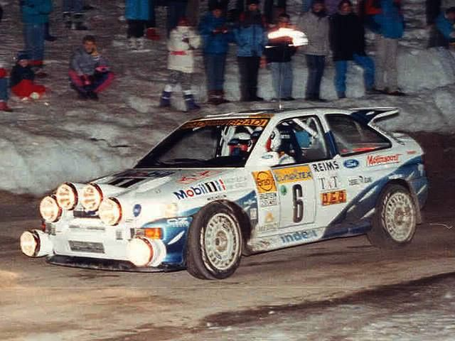 ra François Delecour - Daniel Grataloup-Ford Escort RS Cosworth Gr.A-Ford. Drifting CarsRally ... & 76 best Ford Escort RS Cosworth images on Pinterest | Ford Rally ... markmcfarlin.com