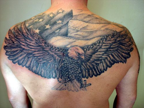 eagle tattoo back - Buscar con Google