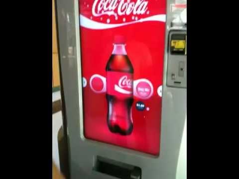 Fully touchscreen vending machine