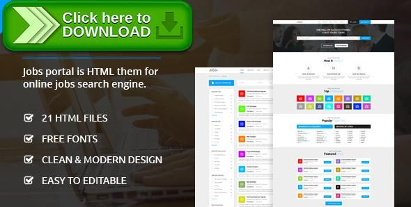 [ThemeForest]Free nulled download Jobs Portal - Online Jobs Search Template from http://zippyfile.download/f.php?id=16972 Tags: career, html template, job, job html, job portal, job search, jobs search engine, jobs site, online job portal, online jobs