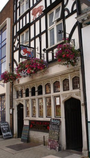 The Red Lion Pub - Southampton, England. This was one of my locals when I was a MN Engineer Apprentice in the late 60s