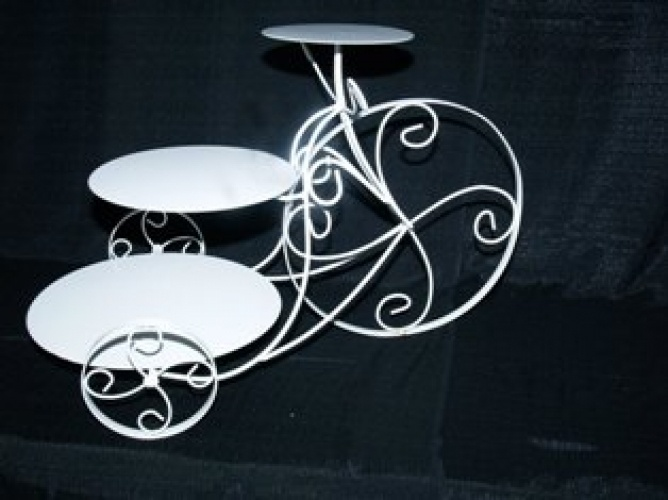 bike wedding cake stand bicycle cake stand wedding cake stand rentals in 11761