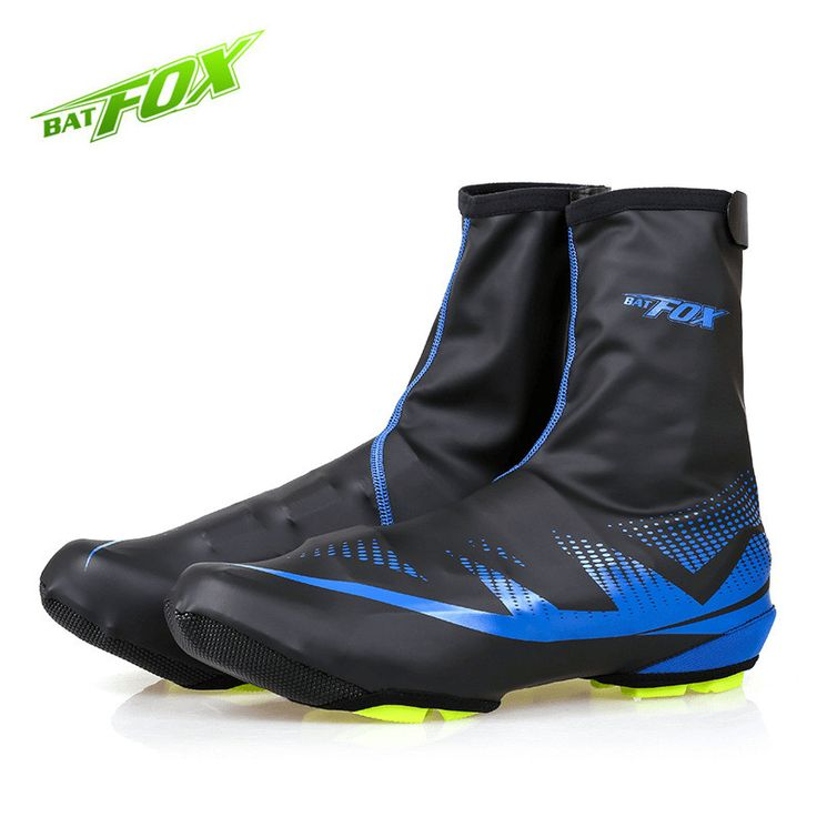 BATFOX Sport MTB Cycling Overshoes Polyester Neoprene Bike Shoes Cover Outdoor Waterproof Anti-wear Shoes Cover New Arrived