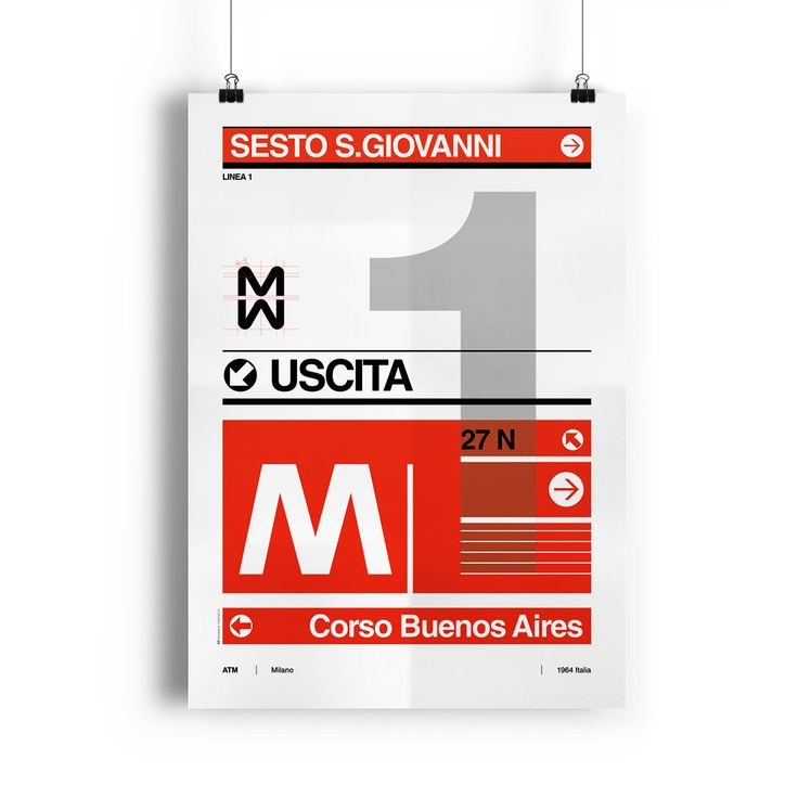 Articolo: ILKIOSKO1Poster iconografico della Linea 1 della serie Metro Milano. La cornice non è inclusa.
