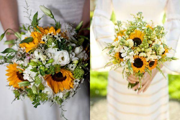 sunflower wedding bouquet - Google Search