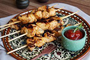 Espetinho de frango com especiarias   Receitas e Temperos