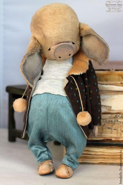Тедди игрушка Буба. Handmade.