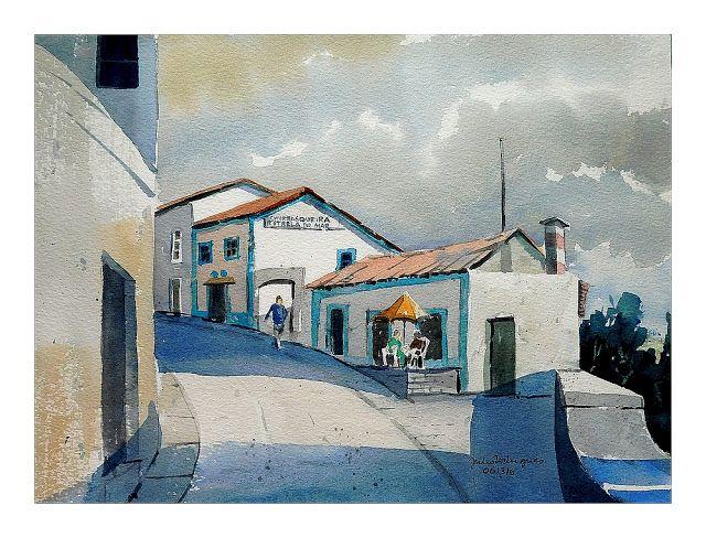 Transatlanta Aguarelas Portuguesas: Vila Franca do Campo, Azores