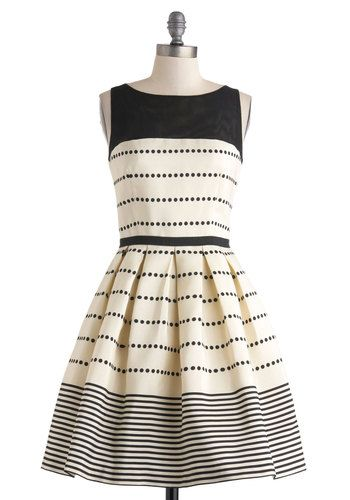Promoting Elegance Dress, #ModCloth