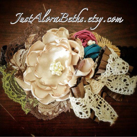 Autumn Dance Couture Headband on Etsy, $26.00