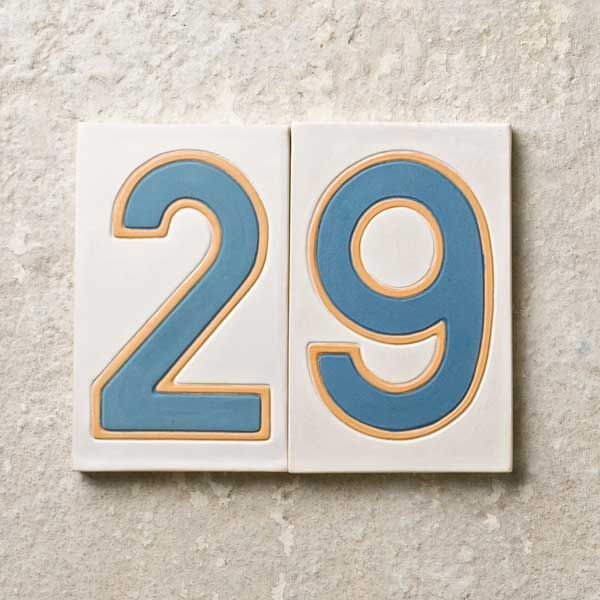 24 best 709 house numbers images on Pinterest House numbers