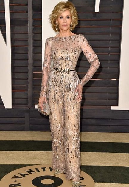 Jane Fonda In Her 70 S Looks Amazing Amp Rocks A Lace