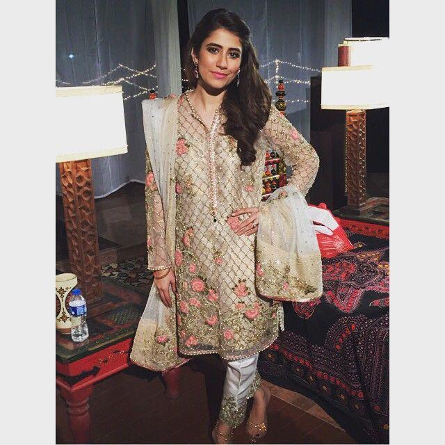 Syra shehroz looking beautiful as always in a Zara Shahjahan Kurta. #luxury #fashion #zarashahjahan #bridal #syrashehroz