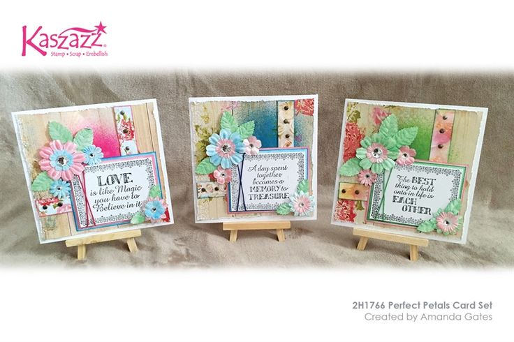 2H1766 Perfect Petals Card Set