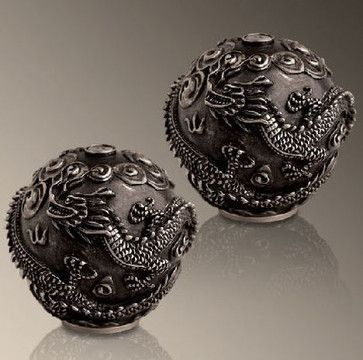 Dragon Salt and Pepper Shakers - asian - serveware - Gracious Style