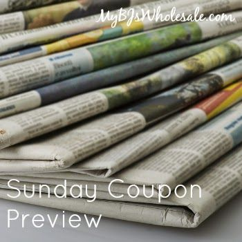 Sunday Coupon Preview for 1/24/16- 3 Inserts!! - http://www.mybjswholesale.com/2016/01/sunday-coupon-preview.html/