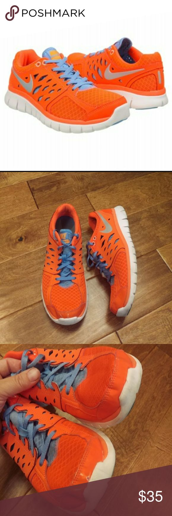 Flex 2013 Run Womens Running Shoes Pre owened in good shape(has few flaws see pictures for details). Size 9. Nike Shoes Athletic Shoes