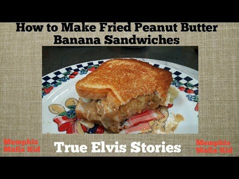 Jo Smith demonstrates how to make Elvis's fried peanut butter banana sandwiches.