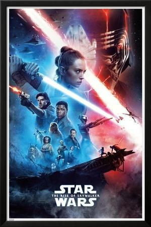 Star Wars The Rise Of Skywalker Posters Allposters Com Star Wars Watch Star Wars Episodes Star Wars Movie