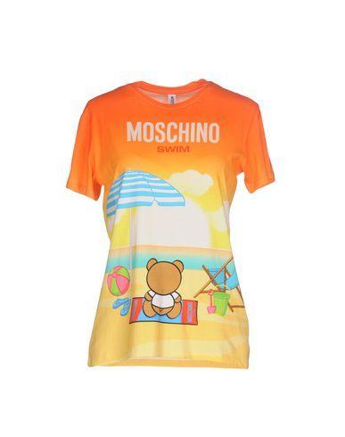 MOSCHINO SWIM Women's T-shirt Orange XL INT