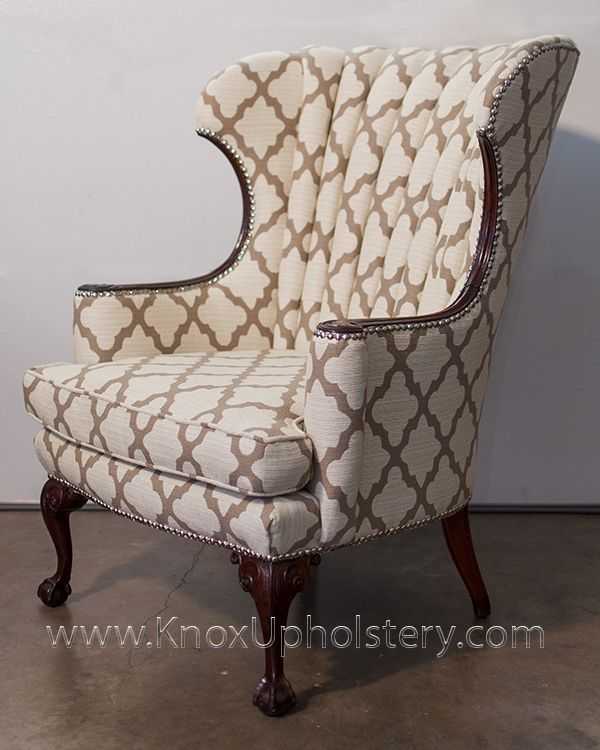 1000 Images About Wingback Chairs On Pinterest Ottomans