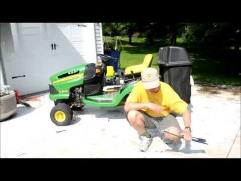 7 best john deere mower images on pinterest beauty products book how to replace the blades on a john deere la lawn mower tractor youtube fandeluxe Image collections