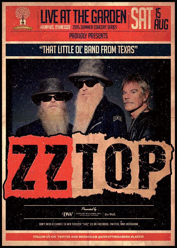 ZZ TOP, aka That Little Ol' Band from Texas. Together since 1969, the Houston-based band is a member of the Rock and Roll Hall of Fame, has sold countless millions of records. The three Texans came together over a shared love of Freddy King, Lightnin' Hopkins, John Lee Hooker, and Muddy Waters. And to this day they celebrate their heroes, not only through their shared love of the Lone Star State, but also by staying true to the blues that inspired them.