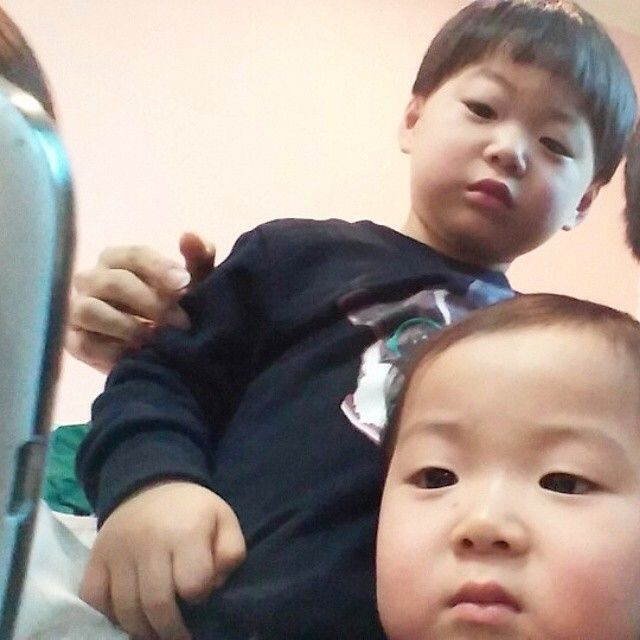 Minguk and Manse   3doong2 Instagram Update