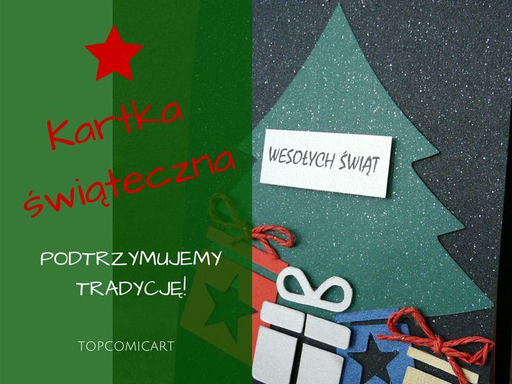 Już czas pomyśleć o kartkach świątecznych! Mamy wiele propozycji :)