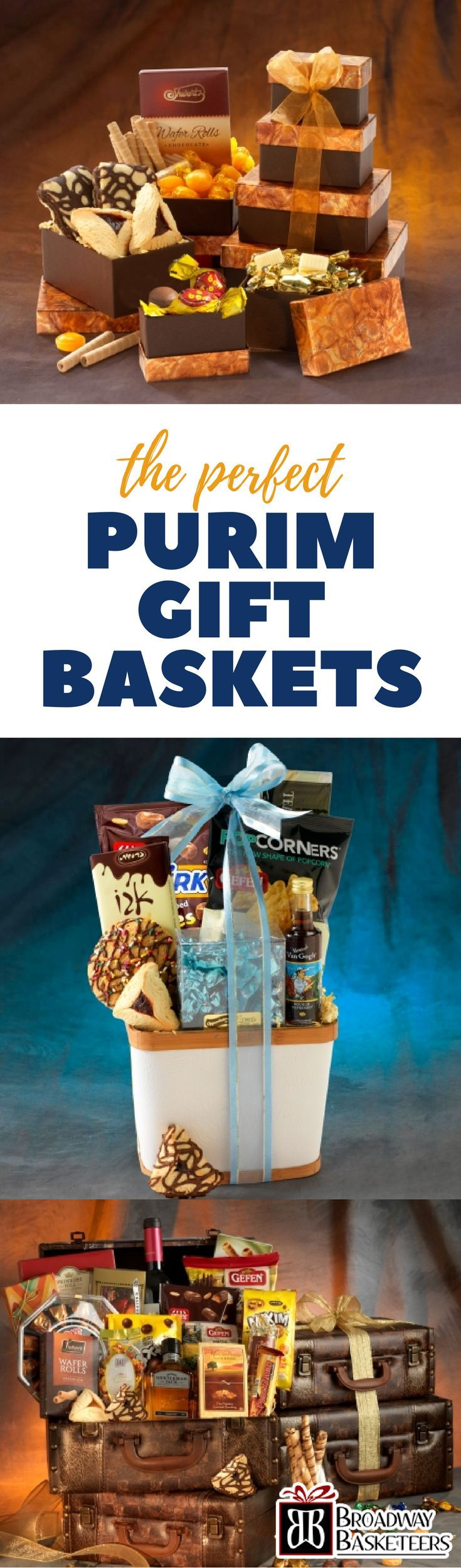 Purim Gift Baskets for Everyone You Love www.broadwaybasketeers.com/