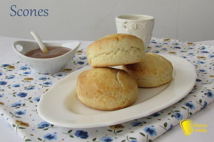 Scones - panini inglesi (ricetta con e senza glutine)