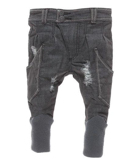 Gray Little Jerry Pants - Infant