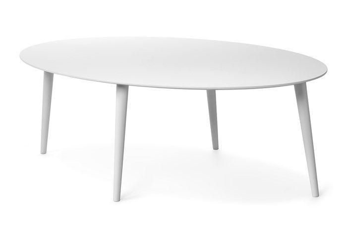 Produktbild - Plaine, Soffbord, elliptiskt L 130 cm