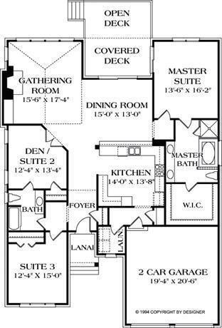 Best 25 narrow lot house plans ideas on pinterest for House plans 3 car garage narrow lot