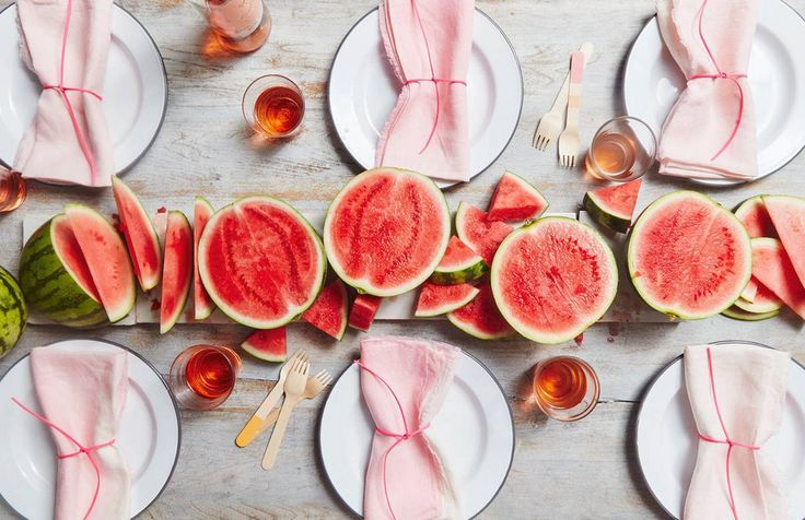 watermelon centerpieces