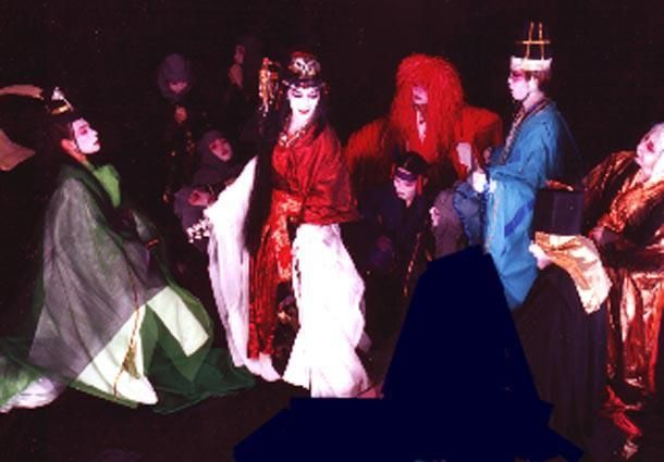 "Hiro in greek ""Medea"" 神ひろしの『王女メディア』ギリシャ公演"