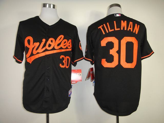 2175c9970ea 2014 NEW MLB Baltimore Orioles 0 Chris Tillman black 1954-2014 60th  Anniversary Cool Base