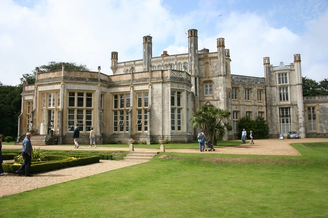 Highcliffe Castle,  Dorset  Good Antique fairs!